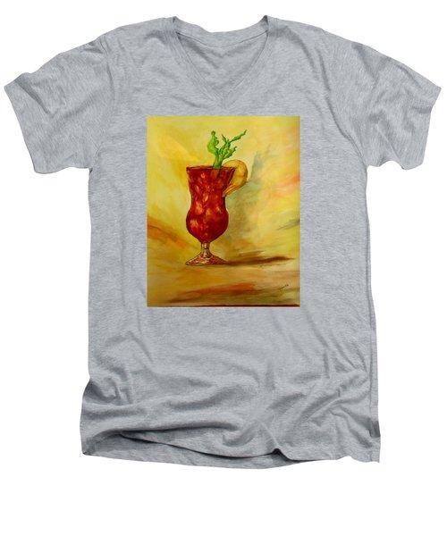 Eye Opener Men's V-Neck T-Shirt by Jacquie King