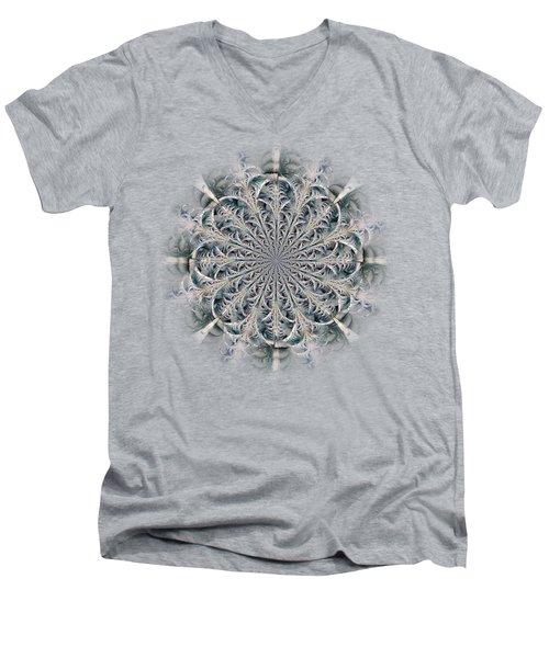 Frost Seal Men's V-Neck T-Shirt by Anastasiya Malakhova