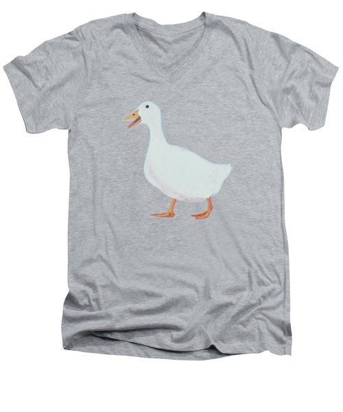 Goose Named Audrey Men's V-Neck T-Shirt by Jan Matson