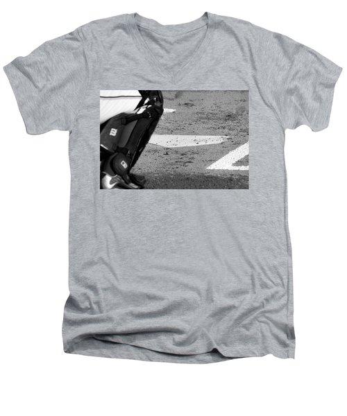 Homeland Security Men's V-Neck T-Shirt by Laddie Halupa