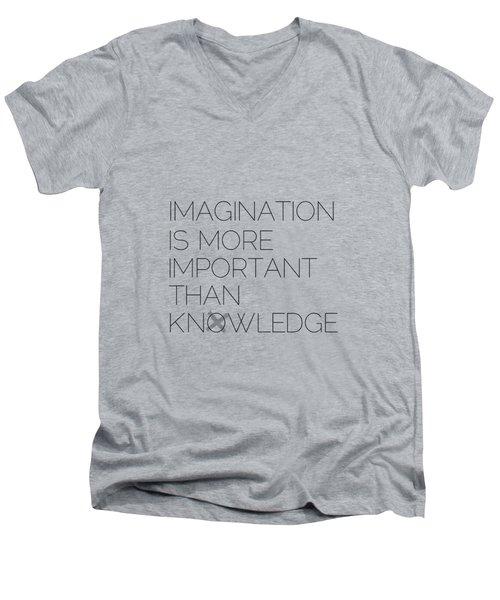 Imagination Men's V-Neck T-Shirt by Melanie Viola