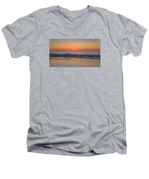 Inspiring Moments Men's V-Neck T-Shirt by Betsy Knapp
