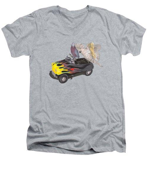 Julies Kids Men's V-Neck T-Shirt by Jack Pumphrey