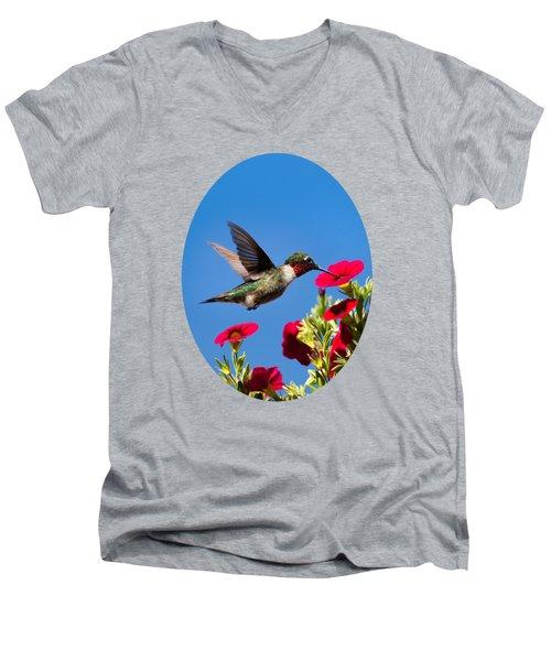 Moments Of Joy Men's V-Neck T-Shirt by Christina Rollo