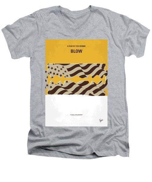 No693 My Blow Minimal Movie Poster Men's V-Neck T-Shirt by Chungkong Art