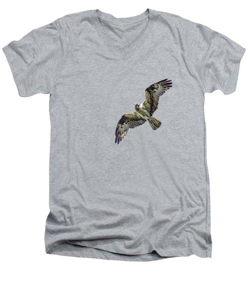 Osprey Overhead Men's V-Neck T-Shirt by Nick Collins