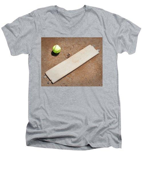 Pitchers Mound Men's V-Neck T-Shirt by Kelley King