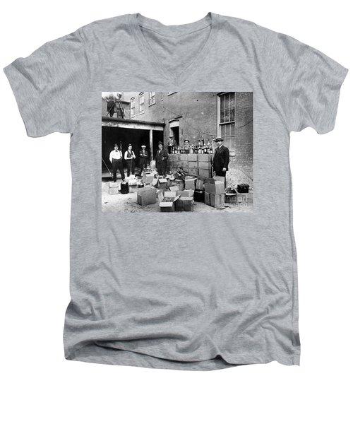 Prohibition, 1922 Men's V-Neck T-Shirt by Granger