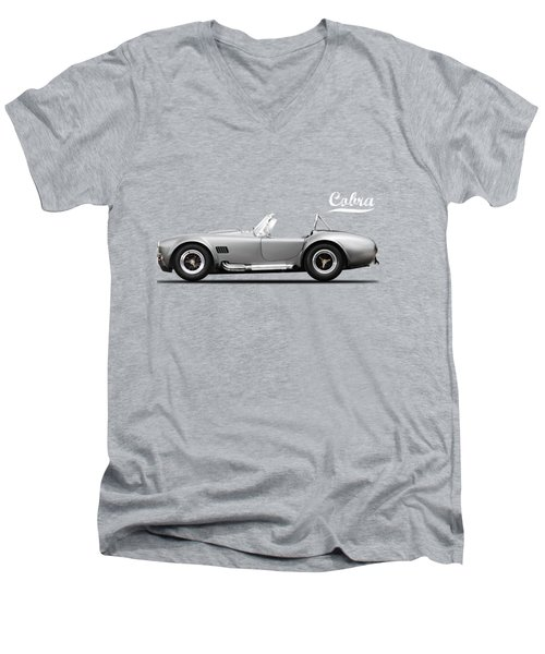 Shelby Cobra 427 Sc 1965 Men's V-Neck T-Shirt by Mark Rogan