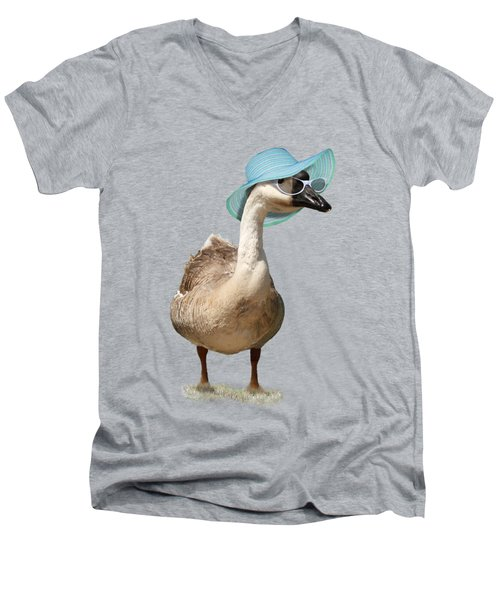 Summer Goose Men's V-Neck T-Shirt by Gravityx9  Designs