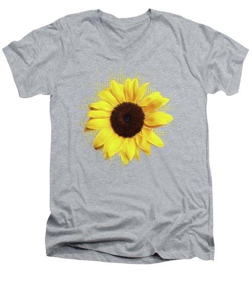 Sunlover Men's V-Neck T-Shirt by Gill Billington