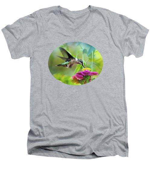 Sweet Success Men's V-Neck T-Shirt by Christina Rollo