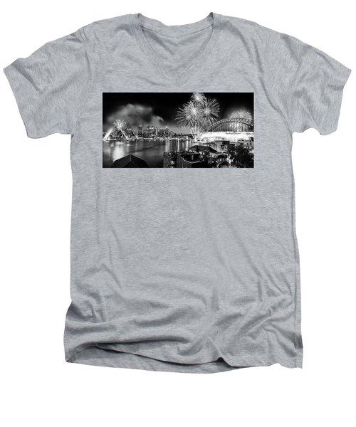 Sydney Spectacular Men's V-Neck T-Shirt by Az Jackson