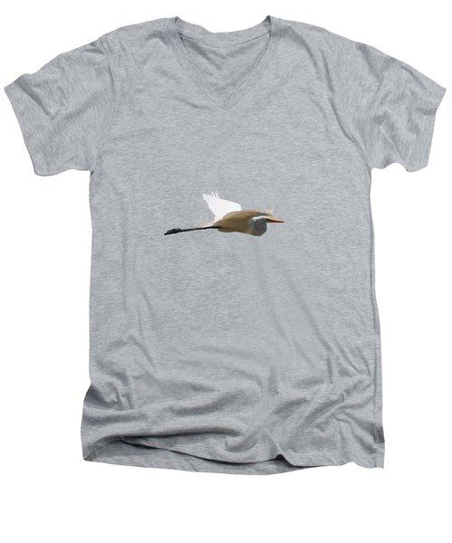 Tall Trees Men's V-Neck T-Shirt by Valerie Anne Kelly