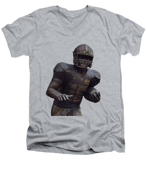Tebow Transparent For Customization Men's V-Neck T-Shirt by D Hackett
