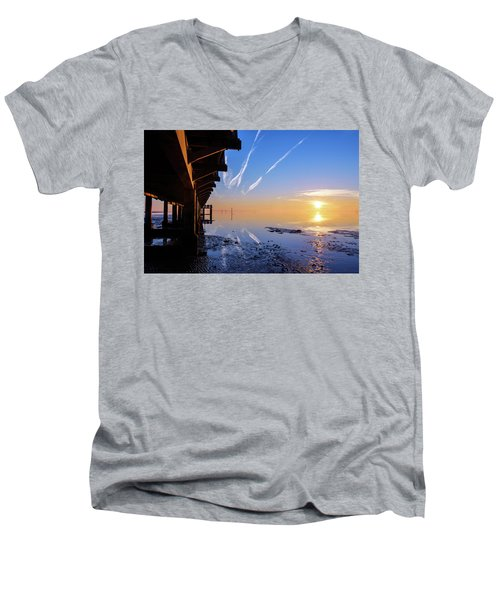 Men's V-Neck T-Shirt featuring the photograph The Chosen by Thierry Bouriat