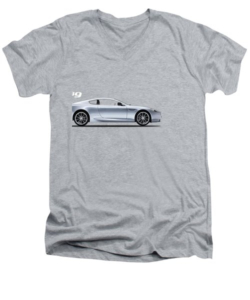 The Db9 Men's V-Neck T-Shirt by Mark Rogan