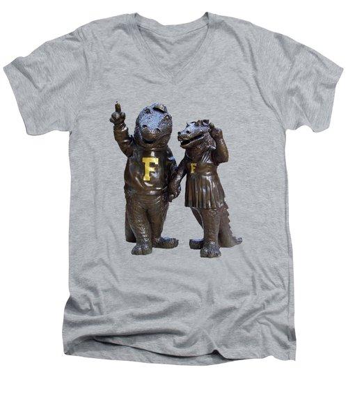 The Gators Transparent For T Shirts Men's V-Neck T-Shirt by D Hackett