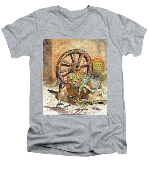 The Gift Men's V-Neck T-Shirt by Marilyn Smith