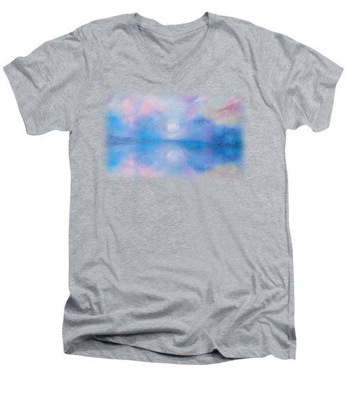 The Gift Of Life Men's V-Neck T-Shirt by Korrine Holt