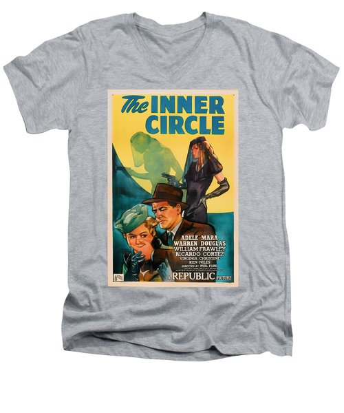 The Inner Circle 1946 Men's V-Neck T-Shirt by Mountain Dreams