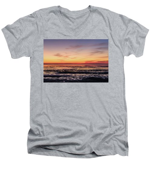 Men's V-Neck T-Shirt featuring the photograph The Other World by Thierry Bouriat
