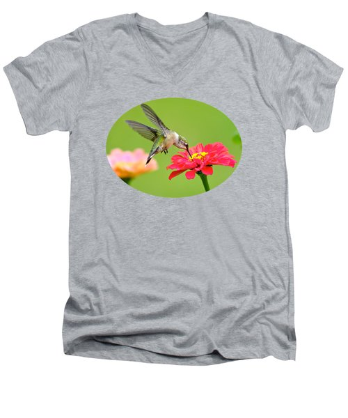Waiting In The Wings Men's V-Neck T-Shirt by Christina Rollo