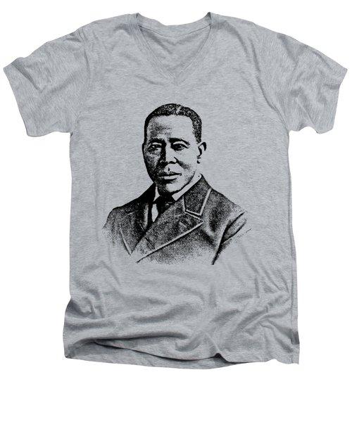 William Still Abolitionist Men's V-Neck T-Shirt by Otis Porritt