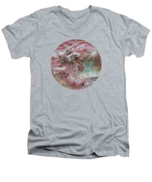 Wind Dance Men's V-Neck T-Shirt by Mary Wolf