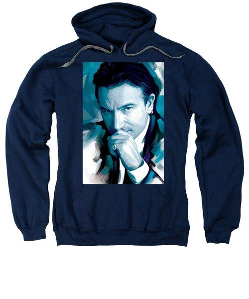 Bono U2 Artwork 4 Sweatshirt by Sheraz A