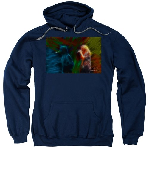 Def Leppard-adrenalize-jor-gb20--fractal Sweatshirt by Gary Gingrich Galleries