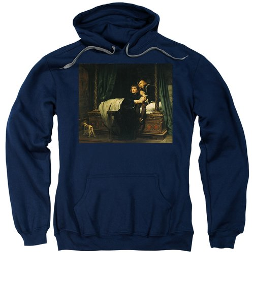 Edward V 1470-83 And Richard, Duke Of York In The Tower Les Enfants Dedouard 1830 Oil On Canvas See Sweatshirt by Hippolyte Delaroche