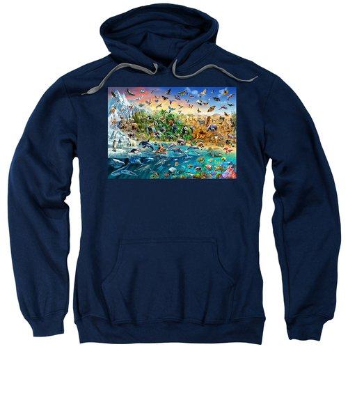Endangered Species Sweatshirt by Adrian Chesterman