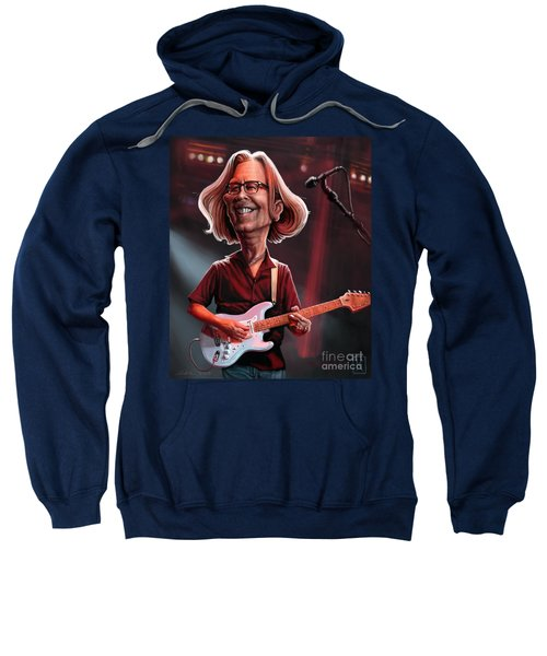 Eric Clapton Sweatshirt by Andre Koekemoer