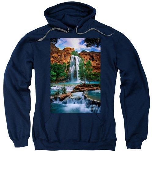 Havasu Cascades Sweatshirt by Inge Johnsson