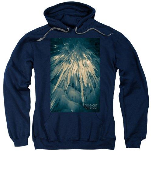 Ice Cave Sweatshirt by Edward Fielding