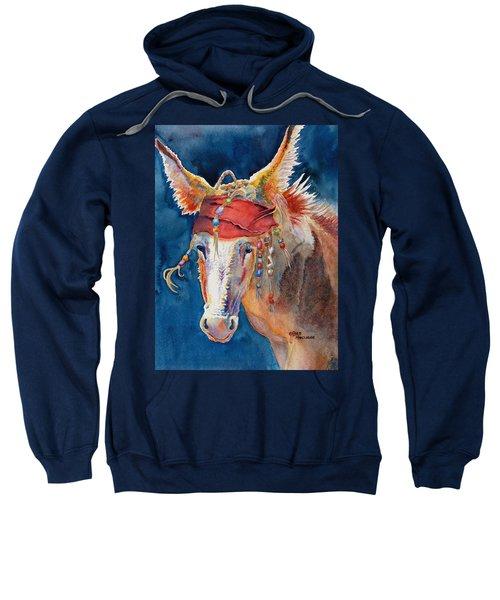 Jack Burro -  Donkey Sweatshirt by Deb  Harclerode