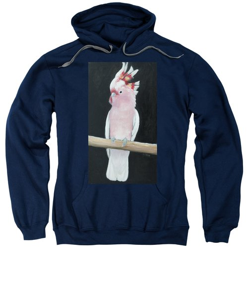 Major Mitchell Cockatoo Sweatshirt by Jan Matson