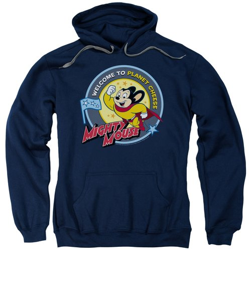 Mighty Mouse - Planet Cheese Sweatshirt by Brand A