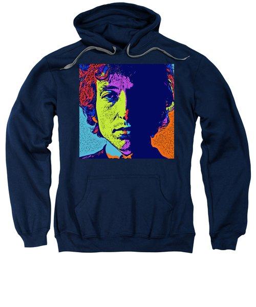 Pop Art Dylan Sweatshirt by David G Paul