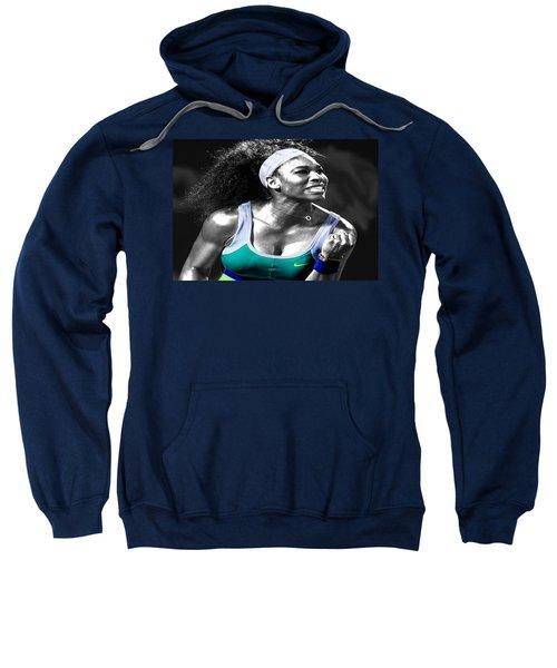 Serena Williams Ace Sweatshirt by Brian Reaves