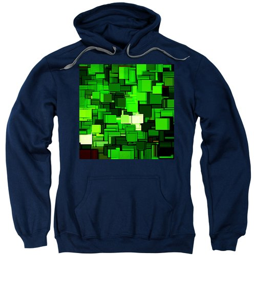 Spring Modern Abstract Xiv Sweatshirt by Lourry Legarde