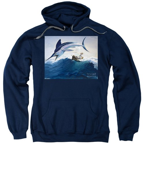 The Old Man And The Sea Sweatshirt by Harry G Seabright