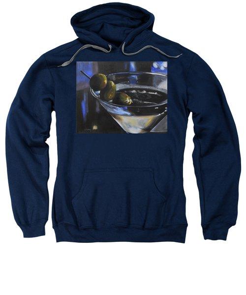Three Olive Martini Sweatshirt by Donna Tuten