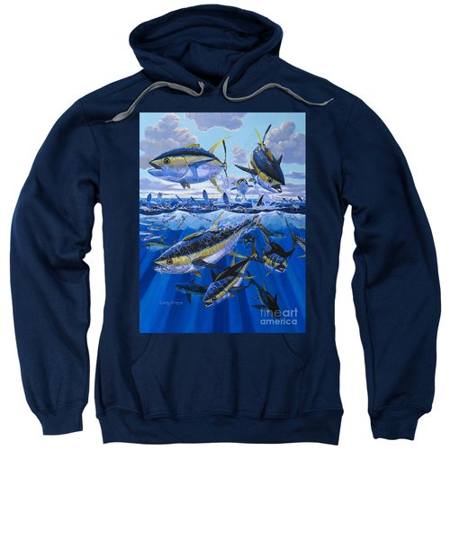 Tuna Rampage Off0018 Sweatshirt by Carey Chen