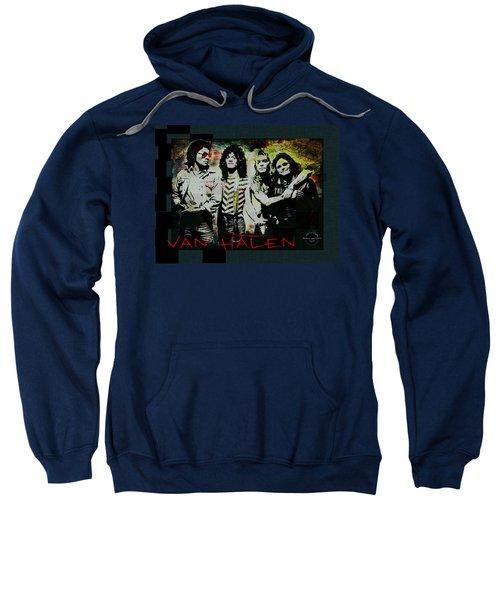 Van Halen - Ain't Talkin' 'bout Love Sweatshirt by Absinthe Art By Michelle LeAnn Scott
