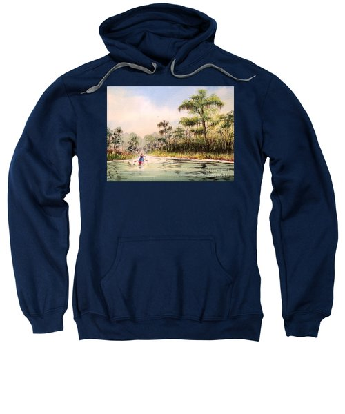 Wacissa River  Sweatshirt by Bill Holkham