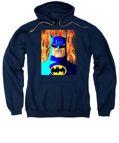 Old Batman Sweatshirt by Salman Ravish
