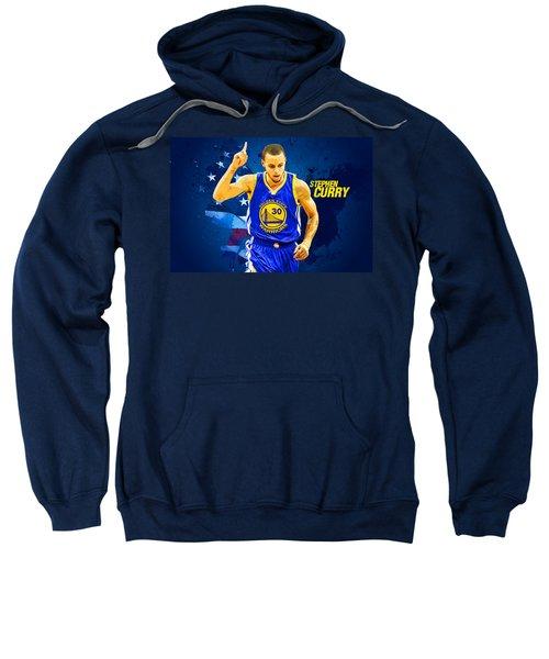 Stephen Curry Sweatshirt by Semih Yurdabak