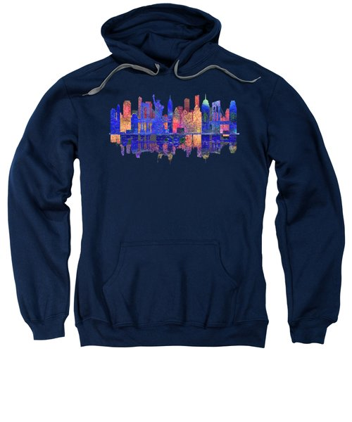New York Skyline Sweatshirt by John Groves